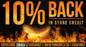 10% Back Ad