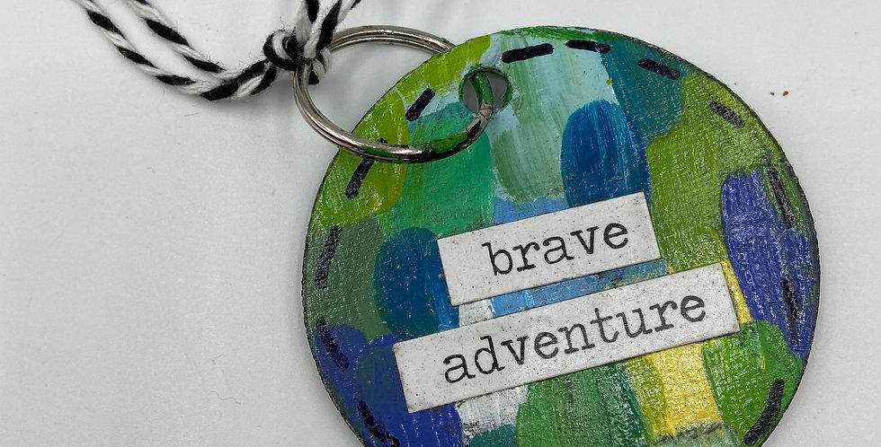 Brave Adventure Keychain