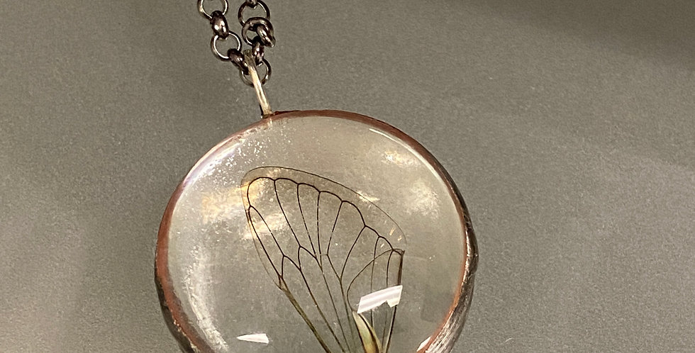 Bubble Cicada Pendant