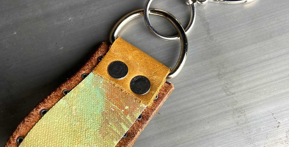 The Painted Cuff Keychain