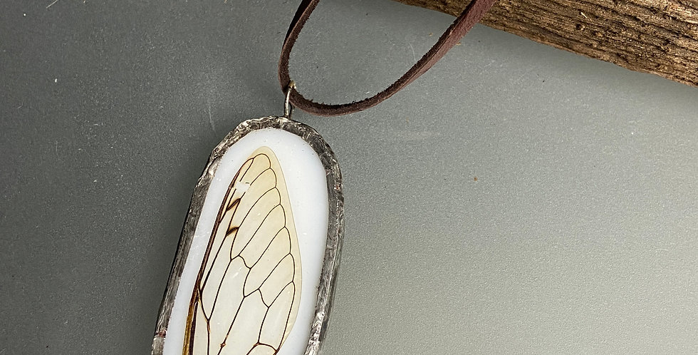 Cicada Wing Pendant