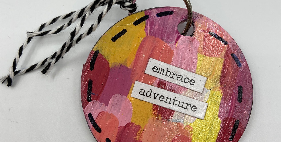 Embrace Adventure Keychain