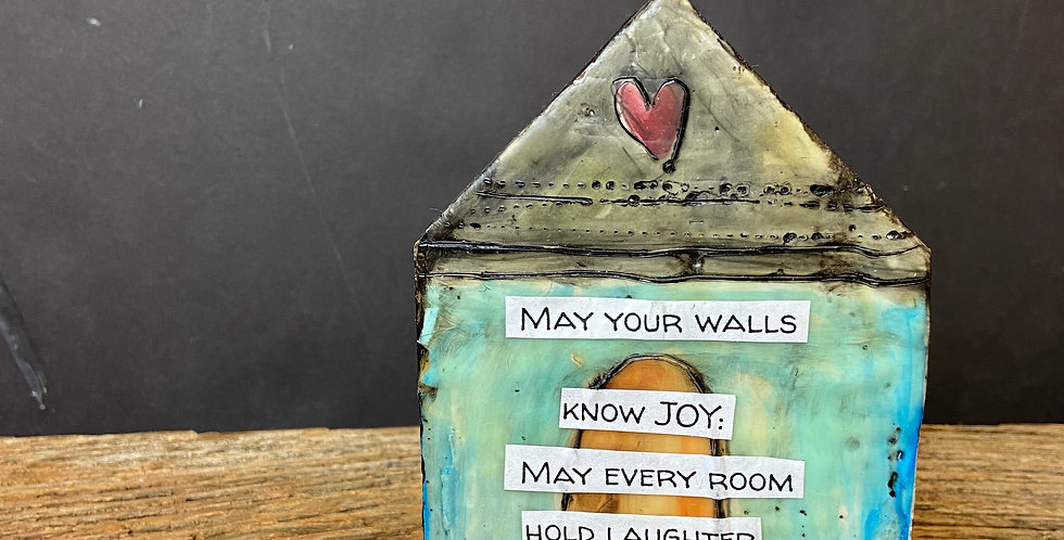 May Your Walls Know JOY House Blessing