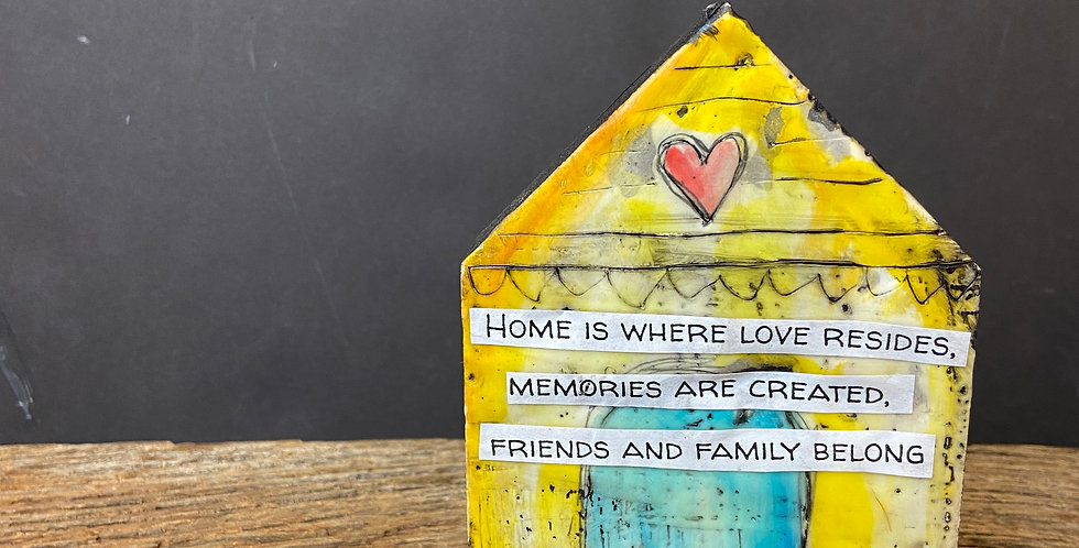 Home is Where Love Resides House Blessing