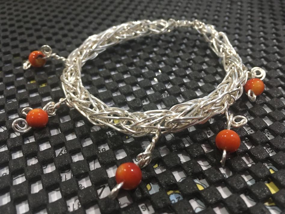 Sterling Silver Woven Bracelet