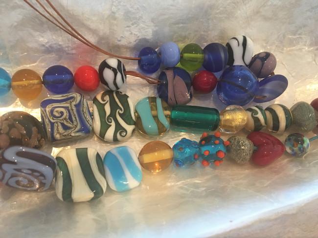 Murano Glass Beads - made in Venice