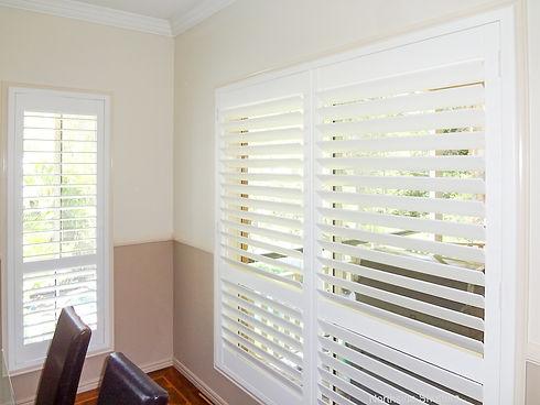 Timber plantation shutters in Brisbane northside location