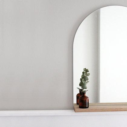 Half Round Mirror Shelf