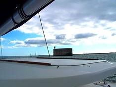 Aldabra-yacht-charter Balades en mer promenades location privée catamaran La Rochelle