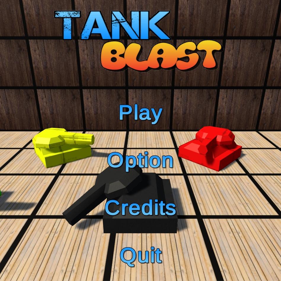 Tank Game Menu