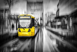 Tram, St Peter's Square
