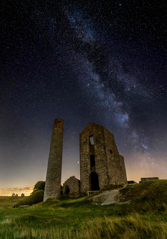 Magpie Mine with Milky Way