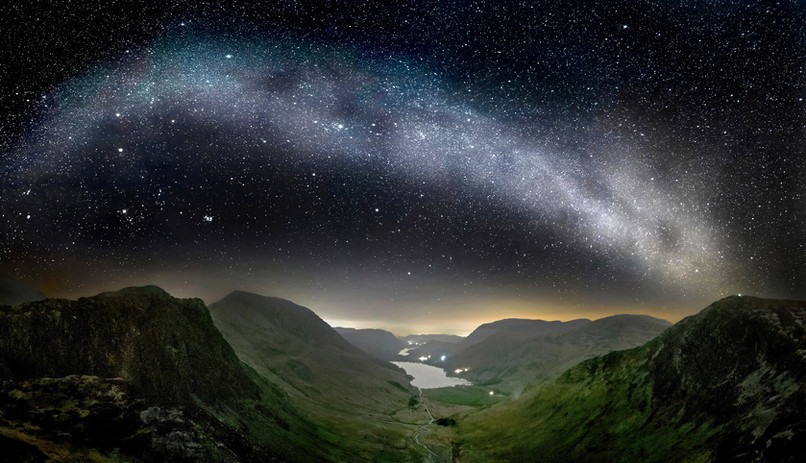 Stars over Buttermere