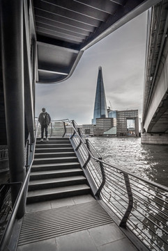 London Bridge Stairs and Shard