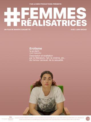 #FemmesRéalisatrices - affiche