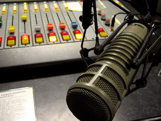 今朝のラジオ