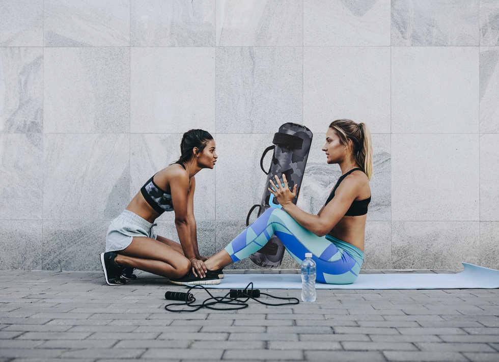 2 girls and a bag sit ups.jpg