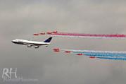 100 jaar British Airways Boeing 747 met
