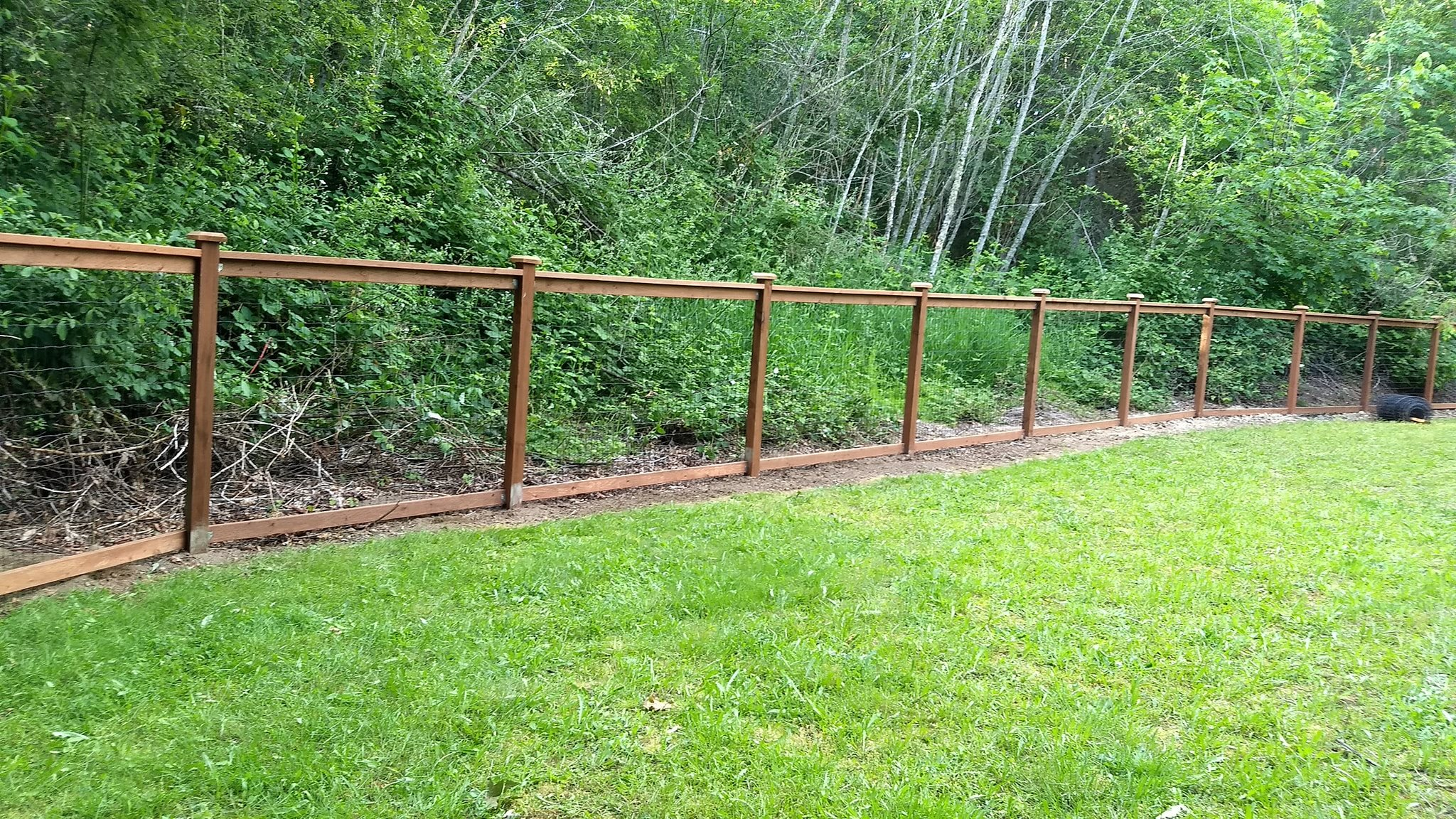 5' Trimmed out Field Fence