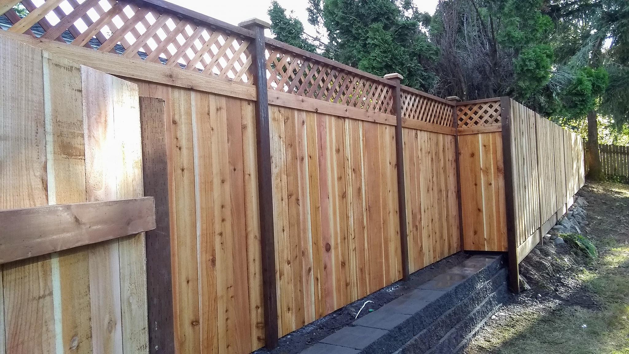 Custom Dual Fence Style