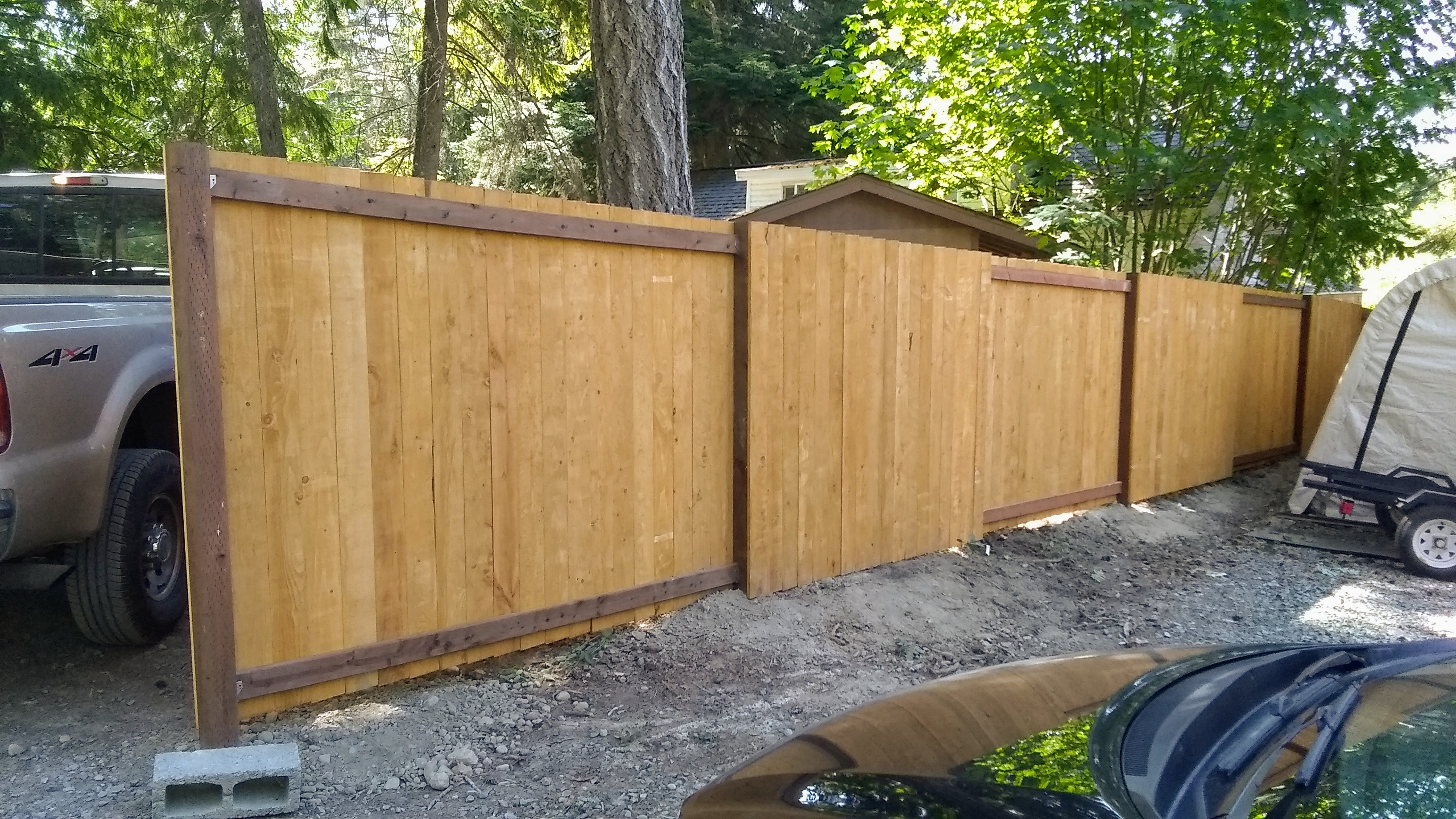 Good Neighbor Prestain Fence