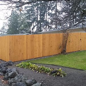 Standard Straightboard Fences