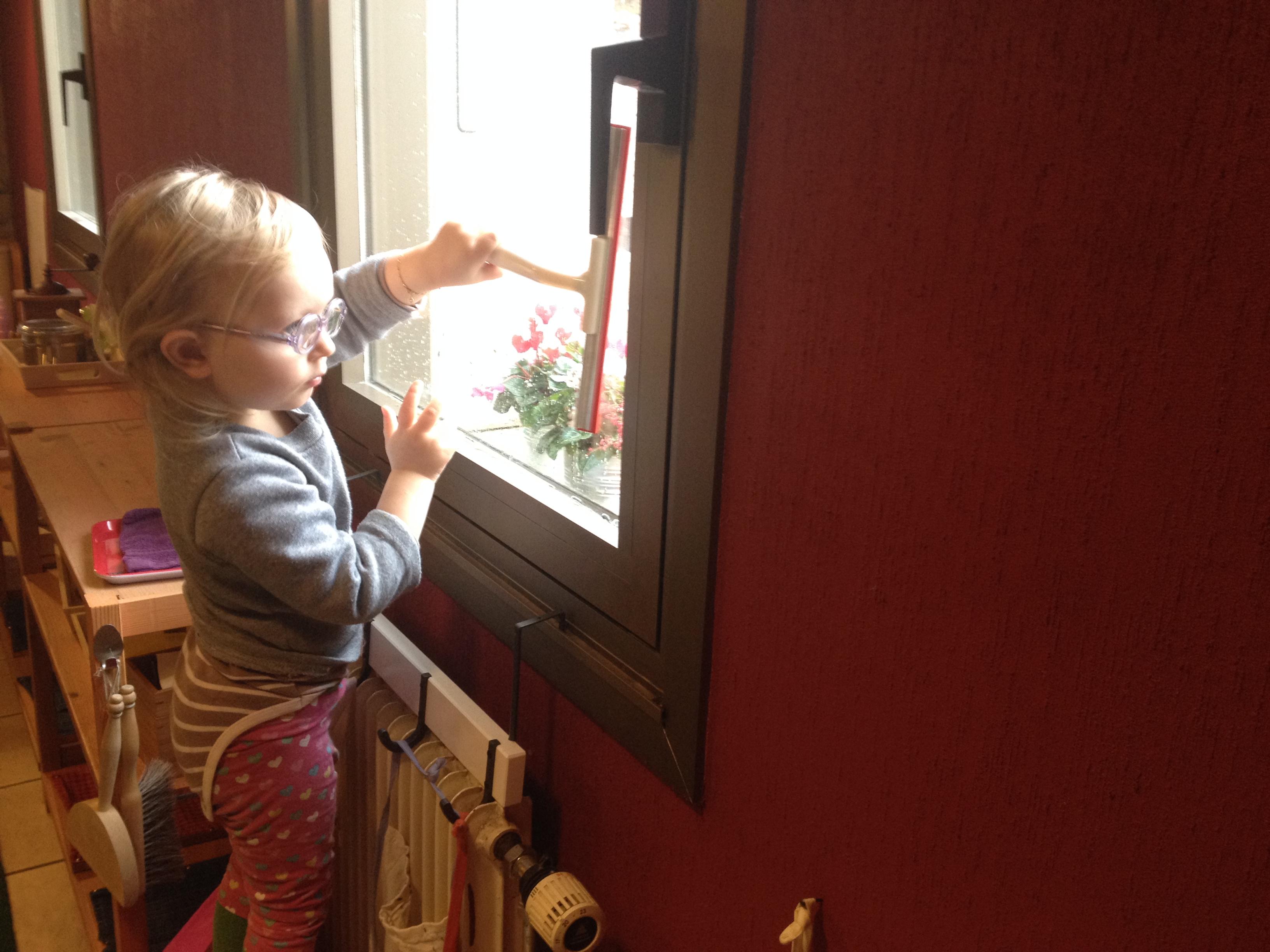 Nettoyer des vitres