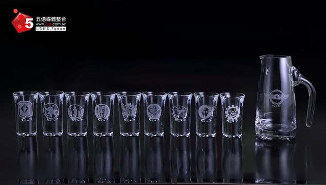 空軍司令部-紀念酒杯禮盒設計