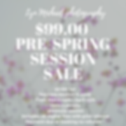 99.00  Pre-spring Session Sale.PNG