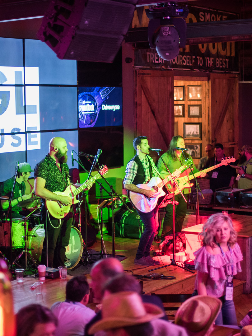 FGL House band in Nashville