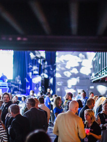 Evening event managed by Right On Pointe for Lanyon Live attendees