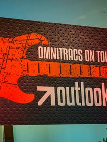 Omnitracs on tour signage