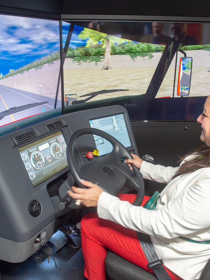 Driving simulation at User Conference