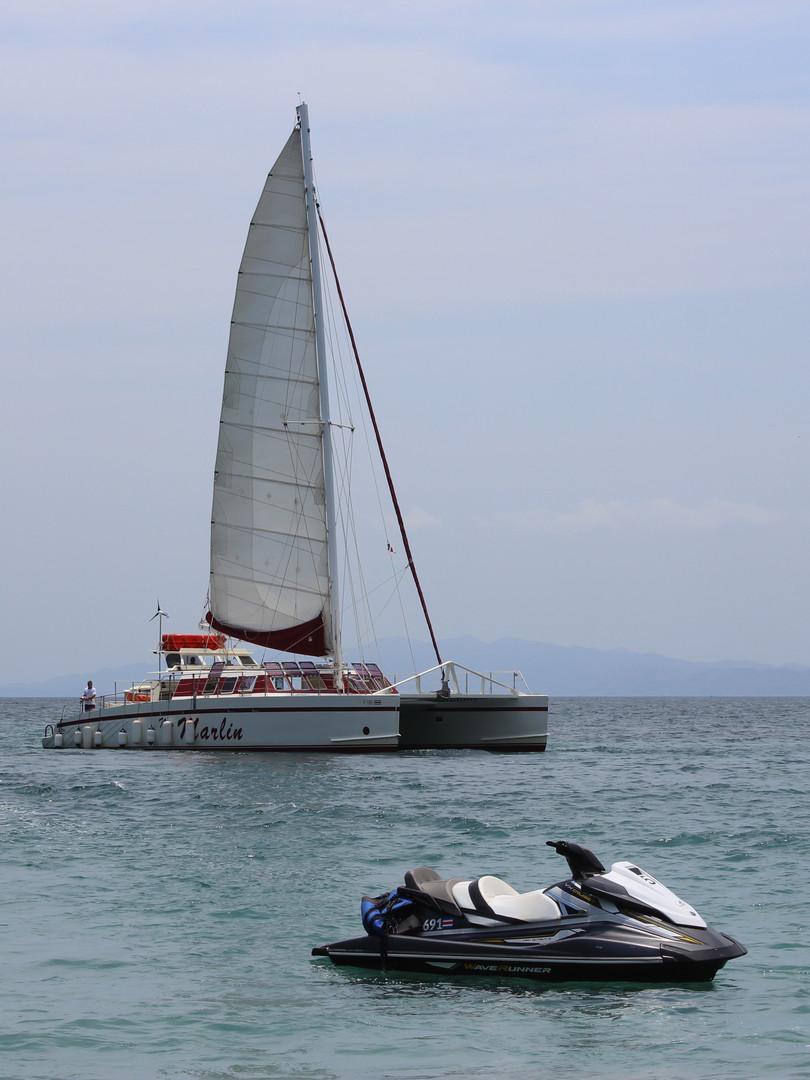 Catamaran in Costa Rica