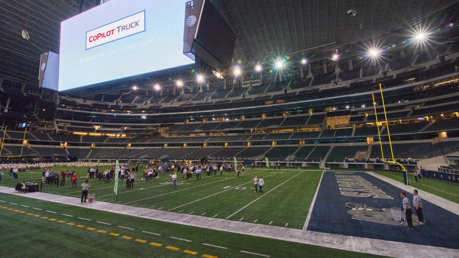 VIP customer experience at Dallas Cowboys field