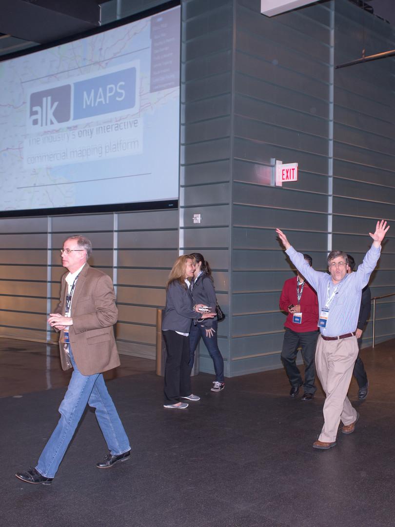 Guests enterting AT&T Stadium