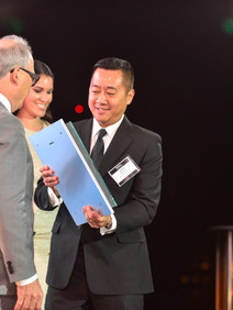 Awards presentation at 5 Star luxury properties at the Forbes event