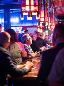 Crowd at bar