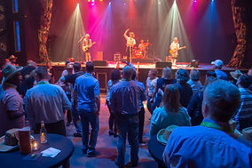 Spazmatics band performing as evening entertainment for Omnitracs User Conference at House of Blues venue