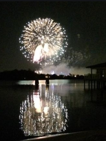 Incetive trip fireworks display to conclude trip