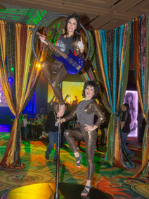 Acrobatic dancers for corporate event