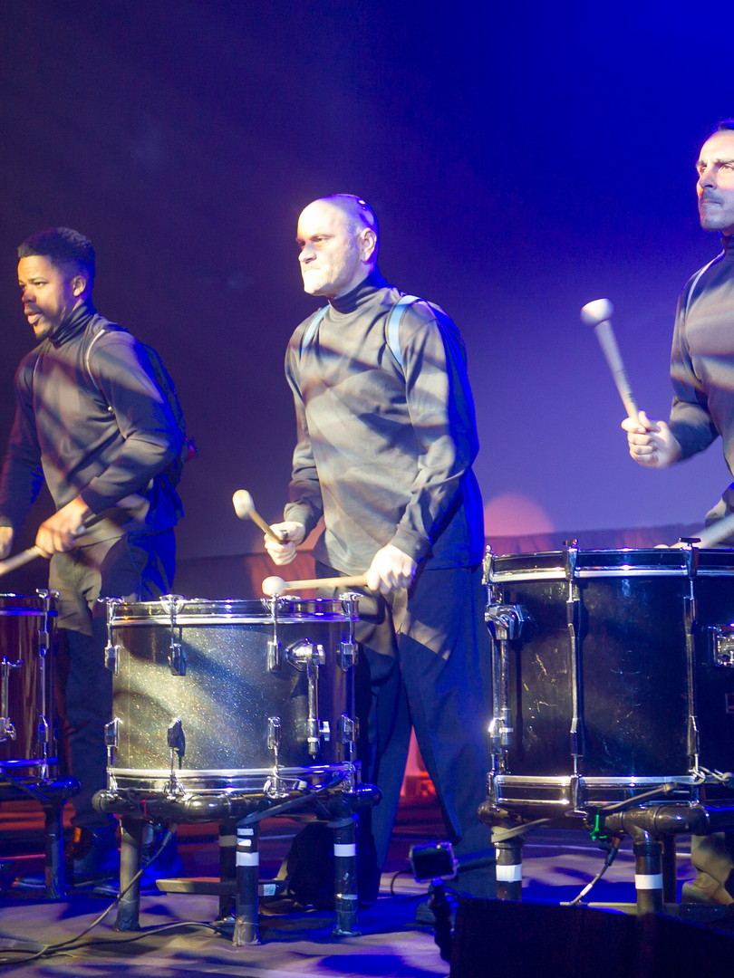 Omnitracs Drum performance on stage