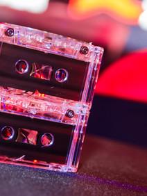 Cassete tape centerpeices