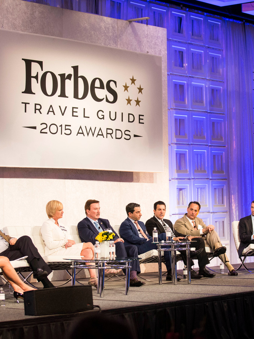 Roundtable discussion at Forbes conference