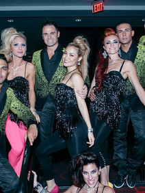 Vegas models and performers hired for a corporate event