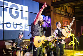 Country cover band playing top hits at FGL House customer appreciation party