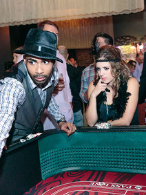 Gambling at 1920s corporate event