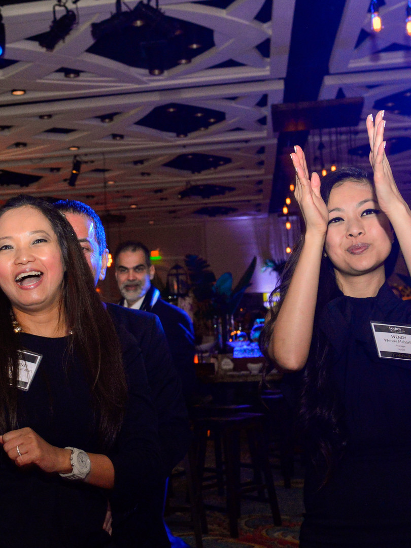 Dancing & fun at corporate evening event