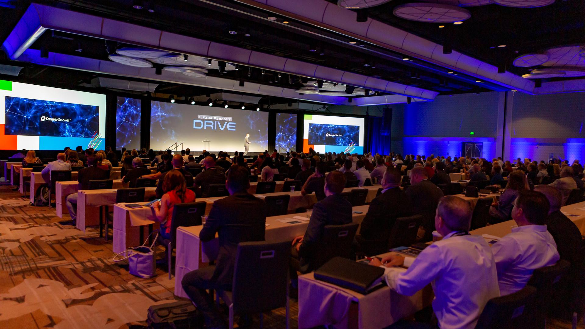 User conference AV production