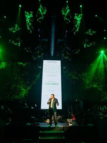 Introduction of Foreigner at private corporate event